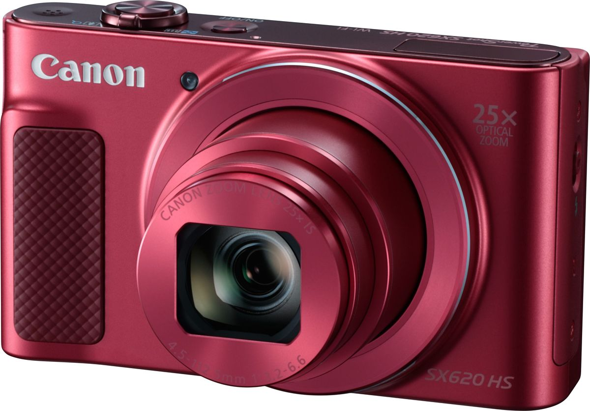 Canon PowerShot SX620 HS, Red компактная фотокамера - Цифровые фотоаппараты