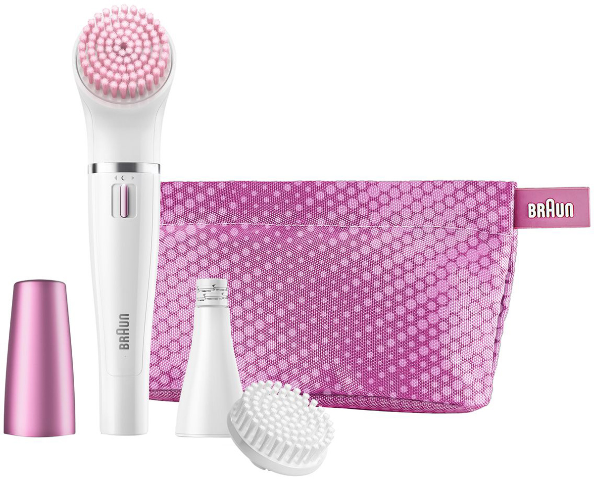 Braun Face 832s щеточка для очищения + эпилятор для лица