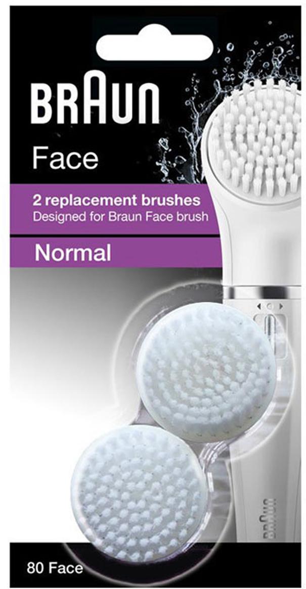 Braun Face SE80сменная насадка для чистки лица (2 шт. ) Braun