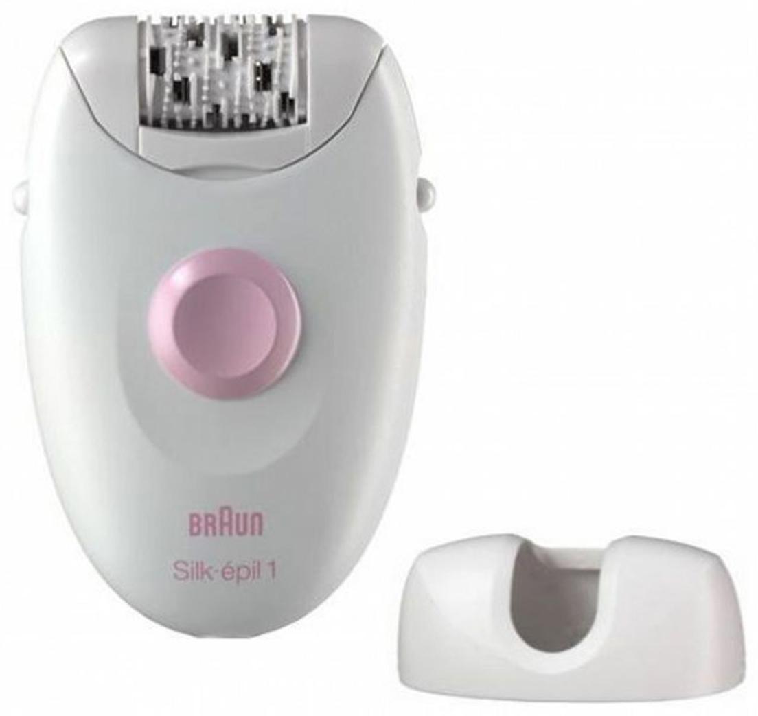 Braun Silk-Epil 1 1370 эпиляторSE 1 1370Braun SE1370 - это базовая модель линейки эпиляторов Silk-Epil. Он легко удаляет волоски у корня, оставляя кожу гладкой и шелковистой на несколько недель, а не дней: вот почему он нравится женщинам. Головка эпилятора работает по системе 20 пинцетов. Она мягко удаляет волосы у самого корня: для гладкой кожи на несколько недель