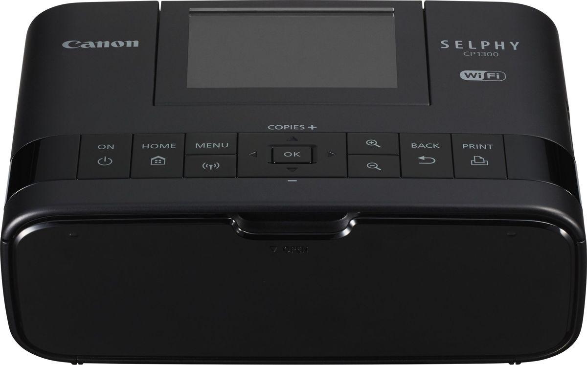 Canon Selphy CP1300, Black сублимационный фотопринтер