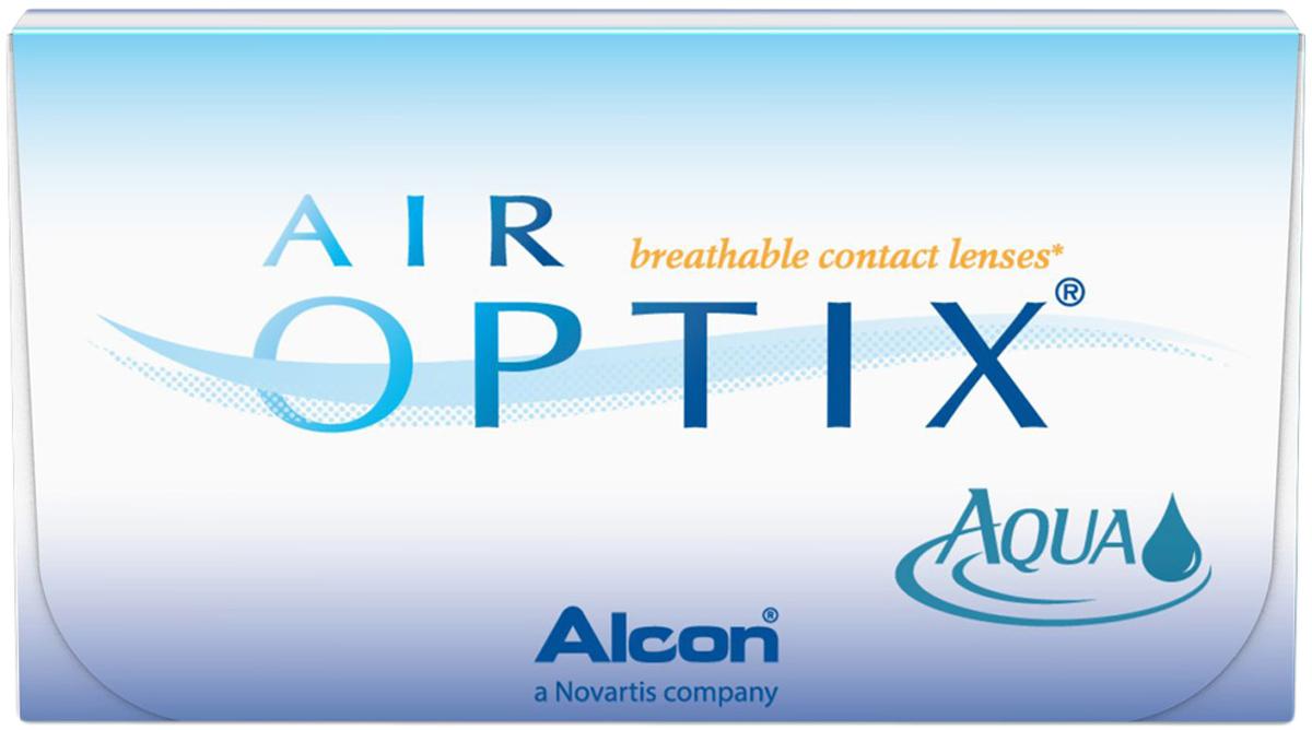 Аlcon контактные линзы Air Optix Aqua 6шт / +4.25 / 14.20 / 8.6/ bausch lomb контактные линзы purevision 6шт 8 6 4 00