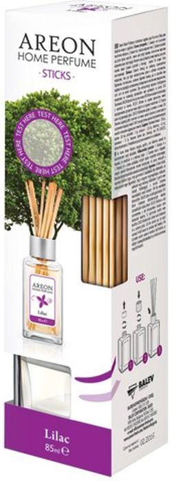 Ароматизатор интерьерный Areon Сирень, 85 мл704-PS-02Ароматизатор наполнит ваш дом свежими запахами. Вставьте палочки в ароматизатор - и волшебные ароматы распространяться по всему помещению. Товар сертифицирован.