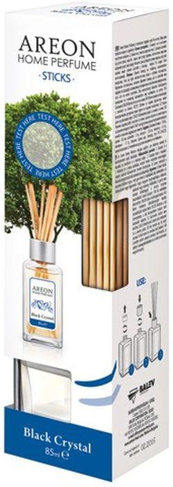 Ароматизатор интерьерный Areon Черный кристалл, 85 мл704-PS-03Ароматизатор наполнит ваш дом свежими запахами. Вставьте палочки в ароматизатор - и волшебные ароматы распространяться по всему помещению. Товар сертифицирован.
