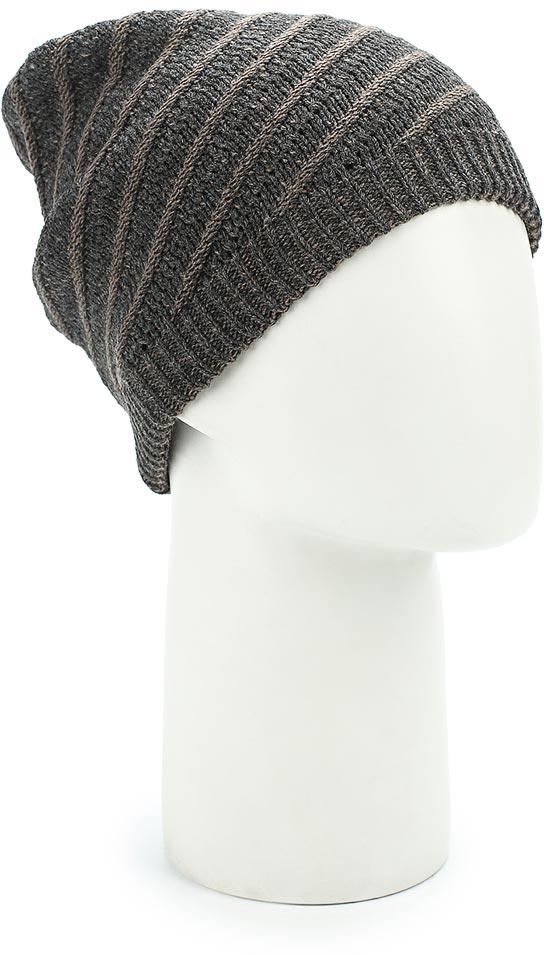 Шапка женская Venera, цвет: серый. 9806256-19. Размер универсальный шапка женская venera цвет серый бежевый 9806556 23 1 размер универсальный