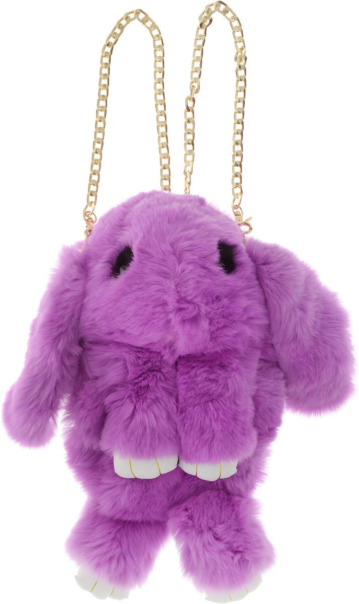 Рюкзак детский Пушистый кролик цвет светло-фиолетовыйРК-503_светло-фиолетовыйРюкзак детский Пушистый кролик цвет светло-фиолетовый