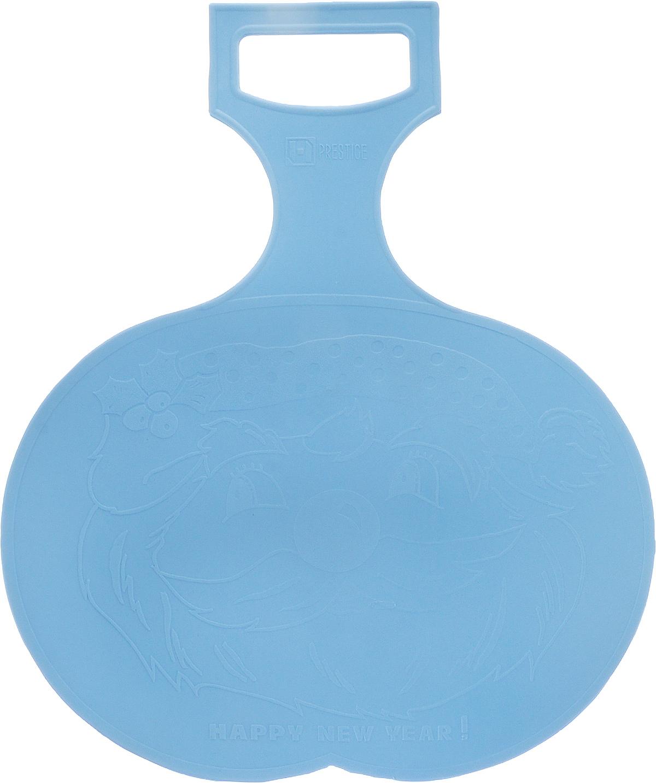 Санки-ледянки Престиж, цвет: голубой, 38 х 32 см001_голубойСанки-ледянки Престиж, цвет: голубой, 38 х 32 см