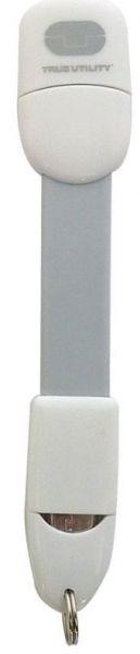 Брелок True Utility MobileCharger, цвет: белыйTU290WGMicro USBМожно использовать для зарядки телефона.