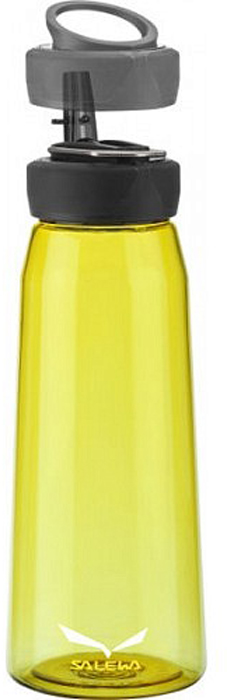 Фляга Salewa Runner Bottle, цвет: желтый, 0,5 л2322_2400Спортивная фляга Runner Bottle для тех, кто ведет активный образ жизни. Изготовлена из тритана, который не содержит вредных веществ. Широкое горлышко изделия позволит с легкостью наполнять и мыть флягу. Питьевое отверстие соединяется с трубкой, которая с легкостью закрывается. Крышка оснащена держателем, за который флягу можно подвесить на рюкзак или ремень.Объем: 0,5 л Вес: 115 г Материал: тритан. Тритан - это прочный, прозрачный материал, который прошел научные тестирования и был признанным одним из лучших материалов для использования в медицинской промышленности.