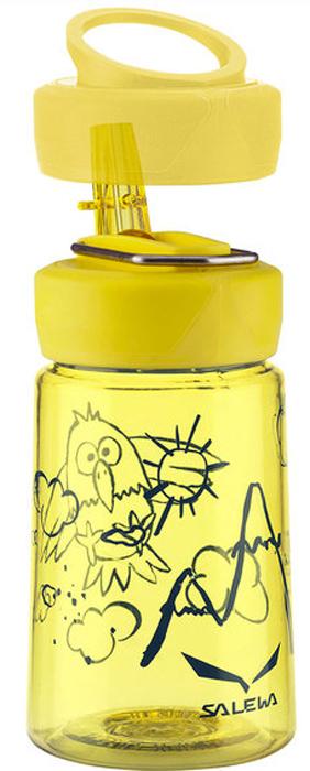 Фляга Salewa Runner Kids Bottle, цвет: желтый, 0,35 л2321_2400Детская спортивная фляга Runner Kids - создана специально для подрастающего любителя активного образа жизни! Особенности данной модели: легкая, удобная крышка, широкое горлышко, яркая расцветка, стильный и современный дизайн, сохранение привлекательного внешнего вида даже после длительной эксплуатации. Объем: 0,35 лВес: 100 гМатериал: тритан. Тритан - это прочный, прозрачный материал, который прошел научные тестирования и был признанным одним из лучших материалов для использования в медицинской промышленности.