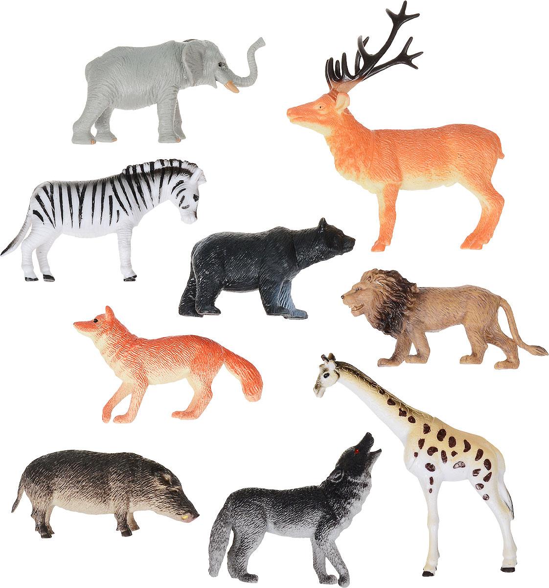 Играем вместе Набор фигурок Животные 9 шт warcraft набор фигурок лотар чернорук грифон и волк 4 шт