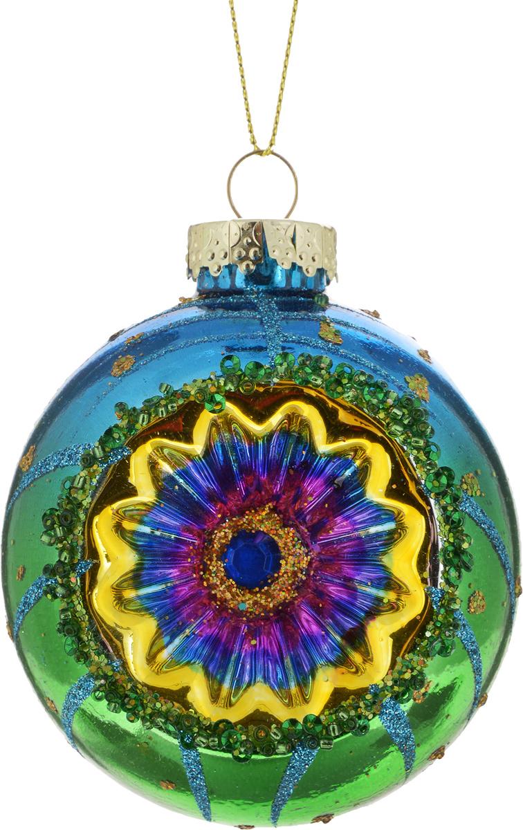 Новогоднее подвесное украшение Erich Krause Восточная сказка, цвет: зеленый, синий, 12 см43902_фуксия, синийСтильное новогоднее подвесное украшение Erich Krause Восточная сказка изготовлено изкачественного стекла. Градиентная окраска яркими восточными цветами делает это украшениеизделие необычным и запоминающимся.Представлено четыре модели в ассортименте, находятся в групповой упаковке в равных долях.Выбор модели невозможен. Упаковка - слой воздушно-пузырьковой пленки; предназначена толькодля безопасной транспортировки и хранения.
