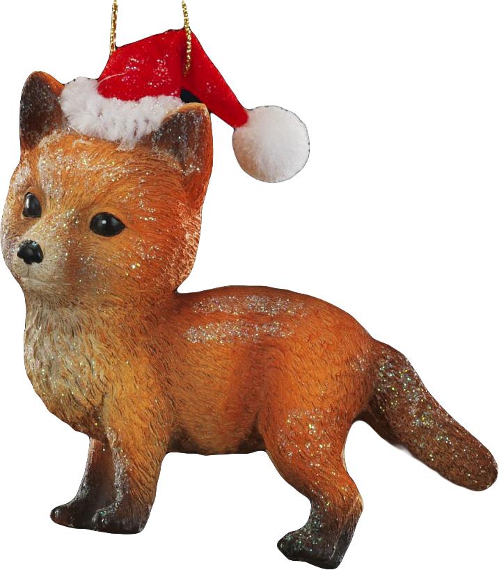 Украшение для интерьера новогоднее Erich Krause Лесной зверек. Лисенок, 10 см43890_лисенокМилый и очень добрый лесной зверек в новогоднем колпаке выполнен из полирезины. Украшение является достаточно тяжелым, поэтому больше подходит для искусственных елок. Новогодние украшения всегда несут в себе волшебство и красоту праздника. Создайте в своем доме атмосферу тепла, веселья и радости, украшая его всей семьей.