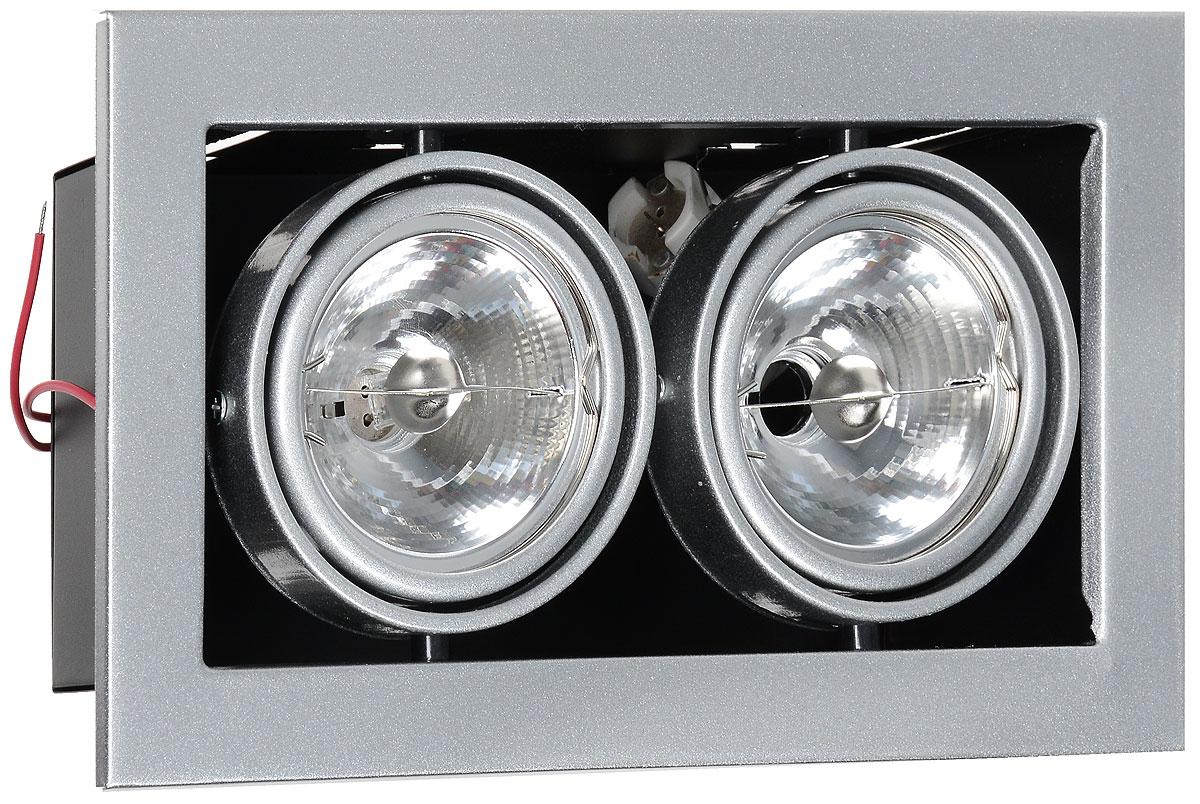 Встраиваемый светильник ARTELamp Technika A5930PL 2SI встраиваемый светильник artelamp technika a8075pl 2wh