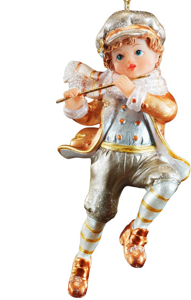 Украшение для интерьера новогоднее Erich Krause Юный музыкант. Мальчик, 11 см. 4388443884_мальчикФигурка Erich Krause Юный музыкант станет прекрасным украшением новогоднего интерьера.Изделие выполнено из полирезина.Новогодние украшения всегда несут в себеволшебство и красоту праздника. Создайте в своем доме атмосферу тепла, веселья и радости,украшая его всей семьей.