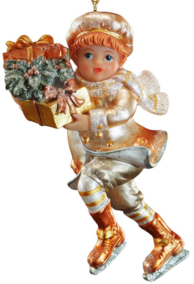 Украшение для интерьера новогоднее Erich Krause Рождественские подарки. Мальчик, высота 11 см43882_мальчикНовогодние украшения всегда несут в себе волшебство и красоту праздника. Создайте в своем доме атмосферу тепла, веселья и радости, украшая его всей семьей.