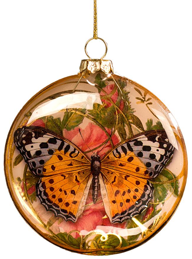 Украшение для интерьера новогоднее Erich Krause Бабочка. Медальон. Вид 2, 8 см43719_вид 2На внутренней стороне прозрачного медальона располагается красивая бабочка. Обратная сторона стеклянного медальона покрыта золотой краской. Новогодние украшения всегда несут в себе волшебство и красоту праздника. Создайте в своем доме атмосферу тепла, веселья и радости, украшая его всей семьей.
