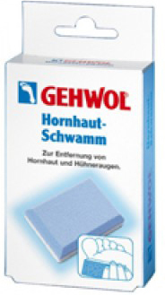 Gehwol Hornhaut-Schwamm - Пемза для загрубевшей кожи 1 шт gehwol подушка под пальцы ног большая правая gehwol hammerzehen polster rechts 1 27503 1шт