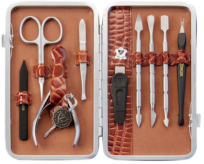 Zinger Маникюрный набор профессиональный (9 предметов) zMSFE 101-SM маникюрные наборы balvi маникюрный набор l hedoniste