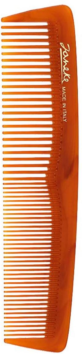 Janeke Расческа для волос в упаковке, 78813577813Марка Janeke – мировой лидер по производству расчесок, щеток, маникюрных принадлежностей, зеркал и косметичек. Марка Janeke, основанная в 1830 году, вот уже почти 180 лет поддерживает непревзойденное качество своей продукции, сочетая новейшие технологии с традициями ста- рых миланских мастеров. Все изделия на 80% производятся вручную, а инновационные технологии и современные материалы делают продукцию марки поистине уникальной. Стильный и эргономичный дизайн, яркие цветовые решения – все это приносит истин- ное удовольствие от использования аксессуаров Janeke. Пластиковая линия из высококачественного сырья, большое разнообразие моделей и цветов, кончик расчески специально закруглен, чтобы предотвратить разрыв волоса