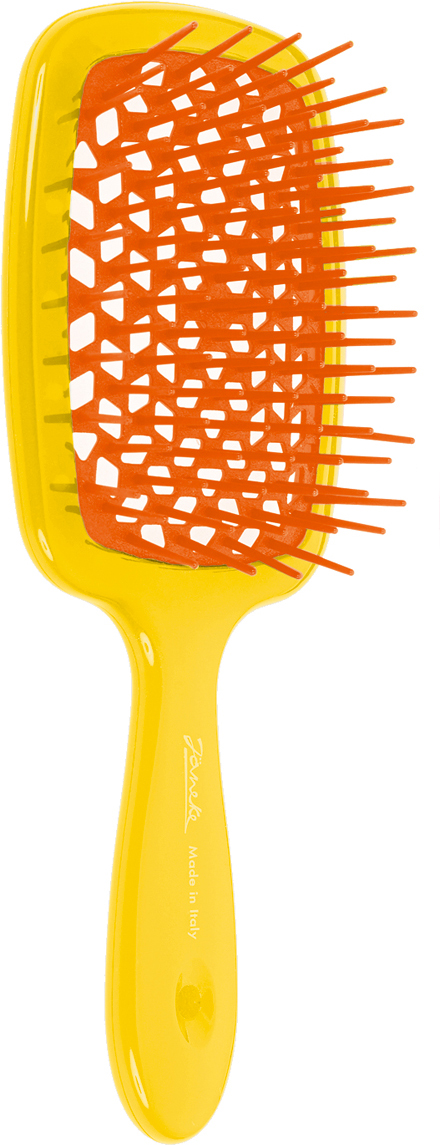 Janeke Щетка для волос. 86SP226 GIA808656Марка Janeke – мировой лидер по производству расчесок, щеток, маникюрных принадлежностей, зеркал и косметичек. Марка Janeke, основанная в 1830 году, вот уже почти 180 лет поддерживает непревзойденное качество своей продукции, сочетая новейшие технологии с традициями старых миланских мастеров. Все изделия на 80% производятся вручную, а инновационные технологии и современные материалы делают продукцию марки поистине уникальной. Стильный и эргономичный дизайн, яркие цветовые решения – все это приносит истинное удовольствие от использования аксессуаров Janeke. Цветная линия - это расчески и щетки,изготовленные из высококачественного пластика. Цвета меняются два раза в год в соответствии с последними трендами моды.