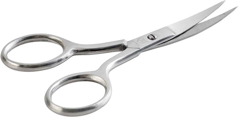 Zinger Ножницы маникюрные (ручная заточка) zN106 S5438Ножницы для маникюра для салонного ухода в домашних условиях. Ножницы профессионально заточены и имеют острый кончик. Лезвия плотно сходятся, работают мягко и свободно, позволяют легко и качественно обработать ногти.Аккуратная эргономичная форма ножниц, высокое качество стали и анатомический дизайн ручек доставляют удовольствие в работе. Цвет - матовое серебро.Как ухаживать за ногтями: советы эксперта. Статья OZON Гид
