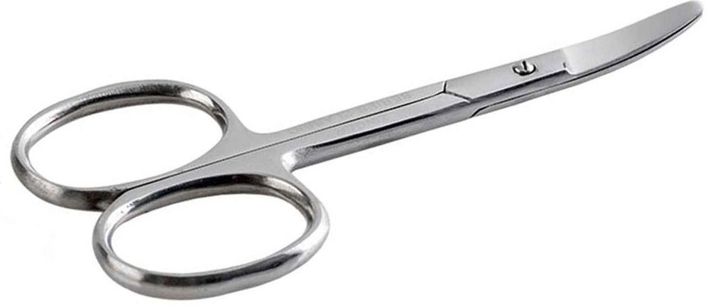 Zinger Ножницы маникюрные (ручная заточка) zN2105 S77297Ножницы для маникюра для салонного ухода в домашних условиях. Ножницы профессионально заточены и имеют острый кончик. Лезвия плотно сходятся, работают мягко и свободно, позволяют легко и качественно обработать ногти.Аккуратная эргономичная форма ножниц, высокое качество стали и анатомический дизайн ручек доставляют удовольствие в работе. Цвет - глянцевое серебро.Как ухаживать за ногтями: советы эксперта. Статья OZON Гид