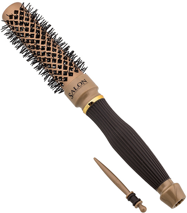 Термобрашинг Salon Professional 98062HVD Nano Style hairway термобрашинг snow style керамический 1 шт 22 мм 07134
