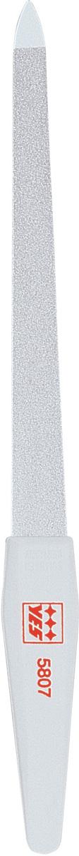 Becker-Manicure YES Пилочка 18см. 9580795807Пилочка для ногтей изготовлена из высокоуглеродистой стали. Пилочка имеет двухстороннее сапфировое напыление: более крупное с одной стороны для формирования формы и мелкое с другой для завершения шлифовки ногтя. Длина пилочки 18 см.Хранить в сухом недоступном для детей месте. Замена изделия не осуществляется в следующих случаях: - Использование не по назначению - Самостоятельный ремонт - Нарушение условий храненияКак ухаживать за ногтями: советы эксперта. Статья OZON Гид