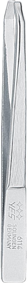 Becker-Manicure YES Пинцет Zetty 8см. 9611496114Пинцет изготовлен из высокоуглеродистой стали и предназначен для коррекции бровей, удаления волос и заноз.Длина пинцета 8 см.Хранить в сухом недоступном для детей месте. Замена изделия не осуществляется в следующих случаях:- Использование не по назначению- Самостоятельный ремонт- Нарушение условий хранения