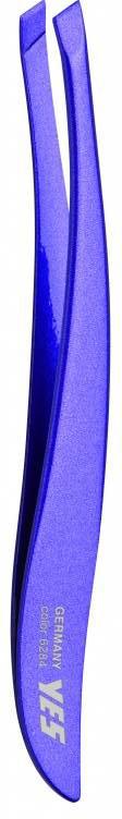 Becker-Manicure YES Пинцет скошенный, цвет: фиолетовый. 9628496284Пинцет скошенный фиолетовый изготовлен из высокоуглеродистой нержавеющей стали и предназначен для коррекции бровей, удаления волос и заноз.Длина пинцета 9 см.Хранить в сухом недоступном для детей месте.Срок годности не ограничен.Замена изделия не осуществляется в следующих случаях:- Использование не по назначению- Самостоятельный ремонт- Нарушение условий хранения