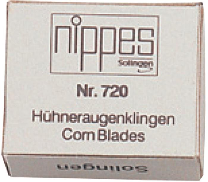 Nippes Запасные лезвия для удаления мозолей, 2x10. 720D720DЛезвия для удалителя мозолей из высококачественной стали в коробке 20 штук.Хранить в сухом недоступном для детей месте. Срок годности не ограничен. Замена изделия не осуществляется в следующих случаях: - Использование не по назначению - Самостоятельный ремонт - Нарушение условий храненияКак ухаживать за ногтями: советы эксперта. Статья OZON Гид