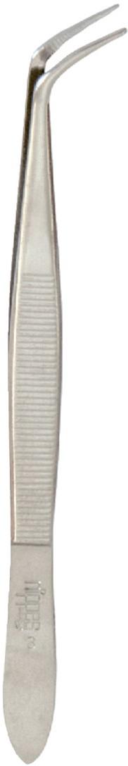 Nippes Пинцет для удаления клещей. 3Е3ЕПинцет Nippes для удаления клещей изготовлен из никелированной высококачественной стали и имеет изогнутые кончики.Длина пинцета 10 см.Хранить в сухом недоступном для детей месте.Срок годности не ограничен.Замена изделия не осуществляется в следующих случаях:- Использование не по назначению- Самостоятельный ремонт- Нарушение условий храненияСпособ примененияВ случае укуса клещом требуется как можно быстрее извлечь его из-под кожи. Для этого необходимо захватить клеща пинцетом как можно ближе к хоботку, после чего начать аккуратно его вытягивать, одновременно вращая вокруг его продольной оси в любую удобную для Вас сторону, как бы выкручивая его. Через 1-3 оборота клещ извлекается целиком вместе с хоботком. Клеща нельзя просто выдергивать, т.к. велика вероятность того, что часть клеща оторвется и останется под кожей. При работе с инструментом необходимо соблюдать меры предосторожности.После извлечения клеща:1. Рекомендуется положить живого клеща в герметично закрывающуюся тару для дальнейшей доставки в лабораторию, проводящую исследования на зараженность вирусами клещевого энцефалита. В случае отсутствия такой возможности необходимо уничтожить клеща, но ни в коем случае нельзя давить его голыми руками.2. Тщательно вымыть руки с мылом, продезинфицировать место укуса и сам пинцет любым пригодным для этих целей средством: 70% спирт, 5% йод, одеколон и т.п.3. При первой же возможности в течение трех дней после укуса необходимо обязательно обратиться к врачу.