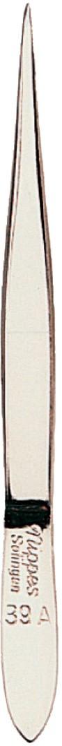 Nippes Пинцет остроконечный, гладкий, 8 см. 39A39AОстроконечный пинцет изготовлен из никелированной высококачественной стали. Легко захватывает волосок, используется профессиональными косметологами для удаления тонких волосков.Длина пинцета 8 смХранить в сухом недоступном для детей месте.Срок годности не ограничен.Замена изделия не осуществляется в следующих случаях:- Использование не по назначению- Самостоятельный ремонт- Нарушение условий хранения