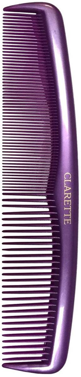 Clarette Расческа для волос универсальнаяя, цвет: сиреневыйCPB 628Коллекция Clarette Перламутр- это расчески, щетки и термо-брашинги для ухода за волосами. Коллекция изготовлена из перламутрового пластика в яркой цветовой гамме. Форма расчески позволяет легко и удобно расчесывает даже густы волосы. Подходит для ежедневного применения.
