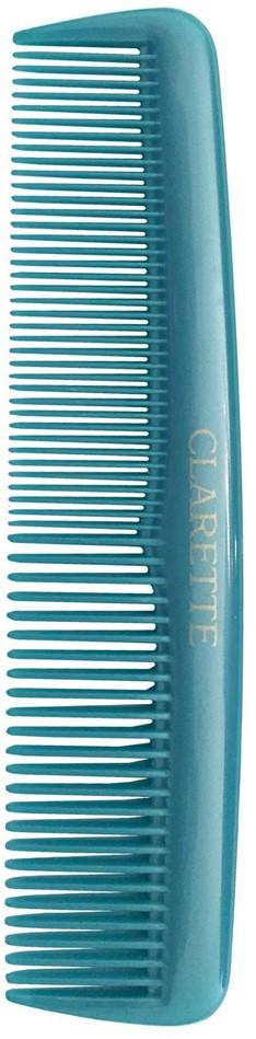 Clarette Расческа для волос универсальная, цвет: бирюзовыйCPB 630Коллекция Clarette Перламутр- это расчески, щетки и термо-брашинги для ухода за волосами. Коллекция изготовлена из перламутрового пластика в яркой цветовой гамме. Форма расчески позволяет легко и удобно расчесывает даже густы волосы. Подходит для ежедневного применения.