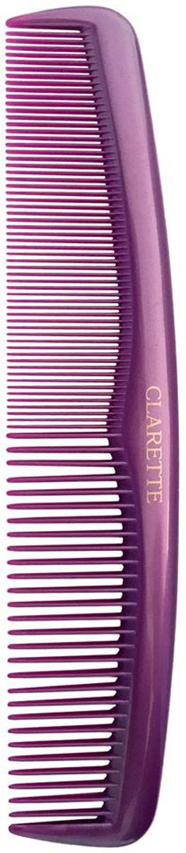Clarette Расческа для волос карманная, цвет: сиреневыйCPB 631Коллекция Clarette Перламутр- это расчески, щетки и термо-брашинги для ухода за волосами. Коллекция изготовлена из перламутрового пластика в яркой цветовой гамме. Маленький размер расчески не заменим в дороге