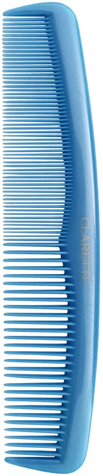 ClaretteРасческа для волос карманная, цвет:  голубой Clarette
