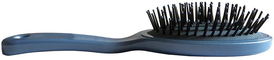 ClaretteЩетка для волос массажная малая, цвет:  голубой