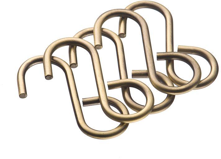 Набор крючков Lemax, несъемные, на рейлинг, цвет: бронза, 6 х 3 х 2 см. 5 штLE 311D BAКомплект крючков малых несъемных из 5 шт. На крючок можно повесить кухонную утварь, например, полотенце или прихватки, мелкую бытовую технику и другие аксессуары.
