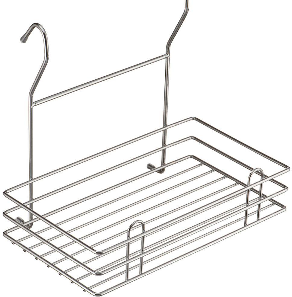 Полка кухонная Lemax Тип-II, навесная, на рейлинг, цвет: хром, 27,5 х 15,5 х 24 смLE 520Полка позволяет эффективно использовать пространство на стене. Если повесить полку над мойкой, то на нее поместятся все моющие средства. Если разместить полку над рабочей зоной, то можно поставить на нее часто используемую технику. Например, кофемолку или миксер. Изготовлена из стали, надежно крепится на трубу рейлинга, прослужит долго.
