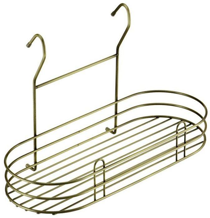 Полка кухонная Lemax, навесная, на рейлинг, цвет: бронза, 40 х 18,5 х 25 смLE 560 BAПолка позволяет эффективно использовать пространство на стене, освобождая рабочую поверхность. Идеальный вариант для небольшой кухни. На эту вместительную полку можно разместить максимальное количество нужных вещей: мелкую бытовую технику, моющие средства или банки с крупами. Изготовлена из высококачественного металла, надежно крепится на трубу рейлинга, прослужит долго.