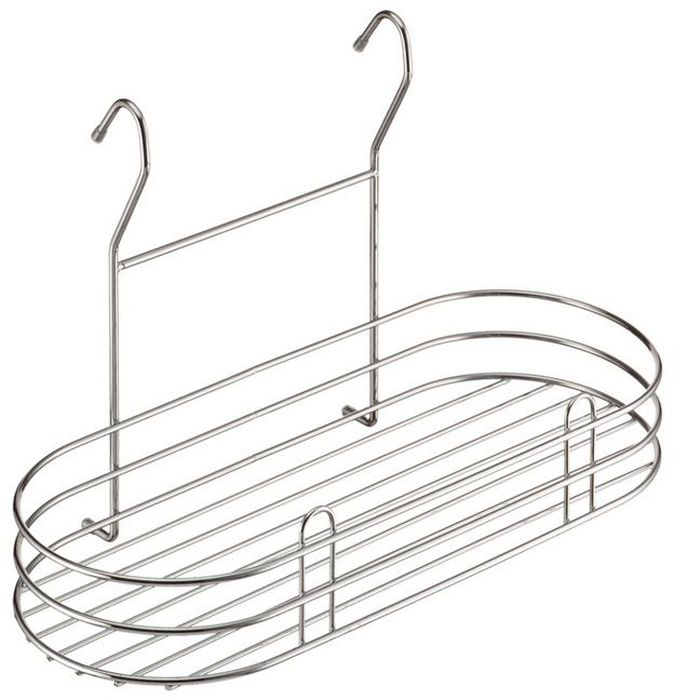 Полка кухонная Lemax, навесная, на рейлинг, цвет: хром, 40 х 18,5 х 25 смLE 560Полка позволяет эффективно использовать пространство на стене, освобождая рабочую поверхность. Идеальный вариант для небольшой кухни. На эту вместительную полку можно разместить максимальное количество нужных вещей: мелкую бытовую технику, моющие средства или банки с крупами. Изготовлена из высококачественного металла, надежно крепится на трубу рейлинга, прослужит долго.