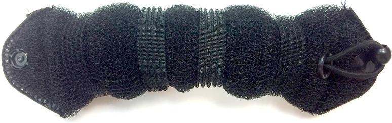 Magic Leverage Валик для волос Hot Buns плюс, цвет: черныйХБПчВалики предназначены для создания еще большего объема прически. Изготовлены из нейлоновой сетки - легкая и эластичная для удобного ношения, прекрасно фиксируется шпильками и заколками. Имеет удобную застежку.В комплекте 2 валика.Цвета: белый, черный.Диаметр: 7 и 9 см