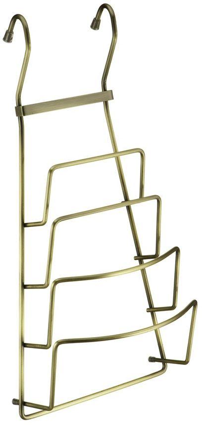 Полка для крышек Lemax, навесная, на рейлинг, цвет: бронза, 21,5 х 11,5 х 42 смYJ-G809B BA
