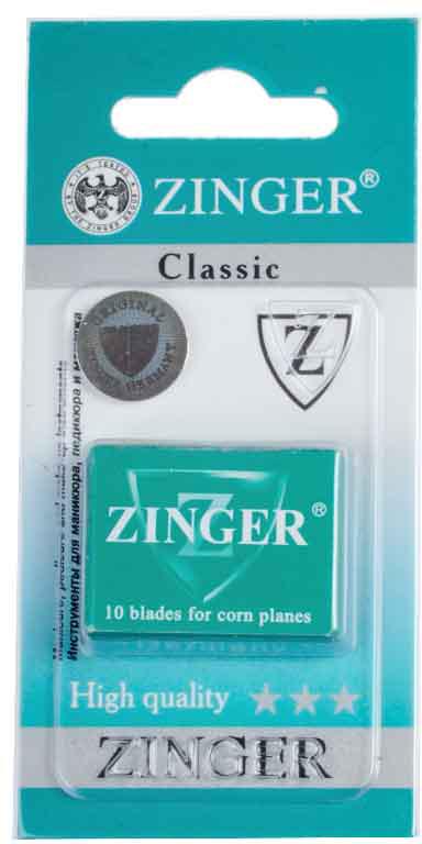 Zinger Лезвия для экстрактора zo-BLADES-10-1, 10 штук64602Комплект лезвий для педикюрного станкаКак ухаживать за ногтями: советы эксперта. Статья OZON Гид