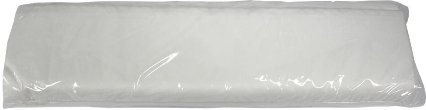 Коврик для солярия 40 х 40 см белый, 100 шт. /уп.  Чистовье