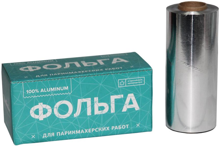 Фольга 16 мкр 12 см х 100 м серебро600-188Качественная фольга для проведения процедур мелирования, колорирования и окрашивания волос.Описание: Плотность: 16 микронШирина рулона: 12 смДлина рулона: 100 м