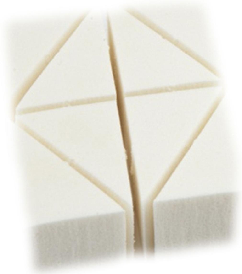 GA-DE Спонж для крем-пудры109000000Индивидуальная упаковка. Удобно растушевывать и накладывать тон около глаз и вокруг носа. Губками наносят пудру, тональный крем, маскирующие средства и жидкий флюид.