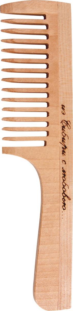 Расческа деревянная.  РД3201 Тимбэ Продакшен